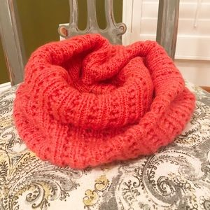 Accessories - ❤️ 5/$20 Infinity Scarf eyelet coral soft